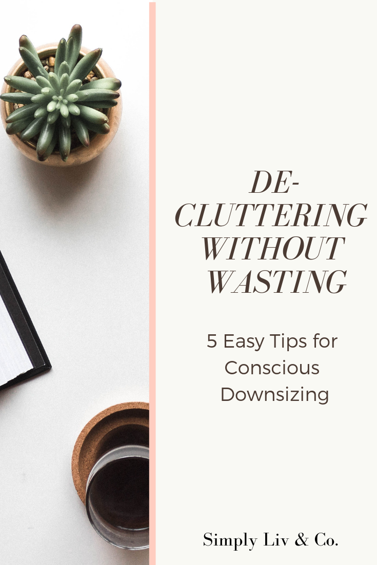 As you Kon-Mari your belongings, remember to do it without creating unnecessary trash. Here are a few ways to de-clutter without waste.