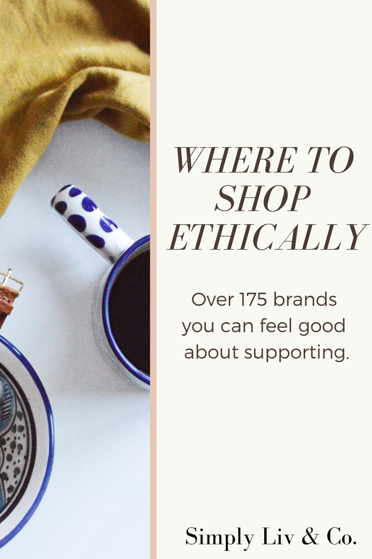 Don't let anyone tell you ethical shopping isn't possible. Click here for more than 175 ethical brands you need to know about.