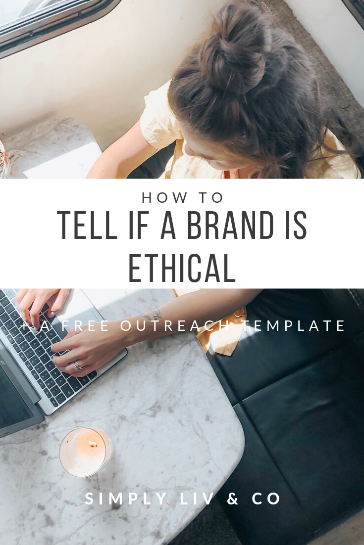 Today's fashion industry is rampant with Greenwashing. This post helps you determine the good from the bad and gives you the tools you need to dig deeper, including a FREE template to email brands yourself.