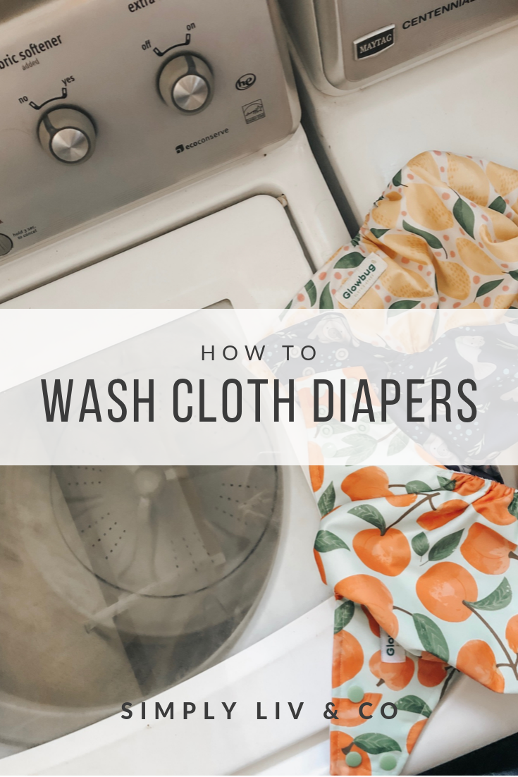Using cloth diapers can seem intimidating at first, but once you jump in, you'll find that it's so much simpler than you expected. Washing is the trickiest part: here's a simple routine to follow.