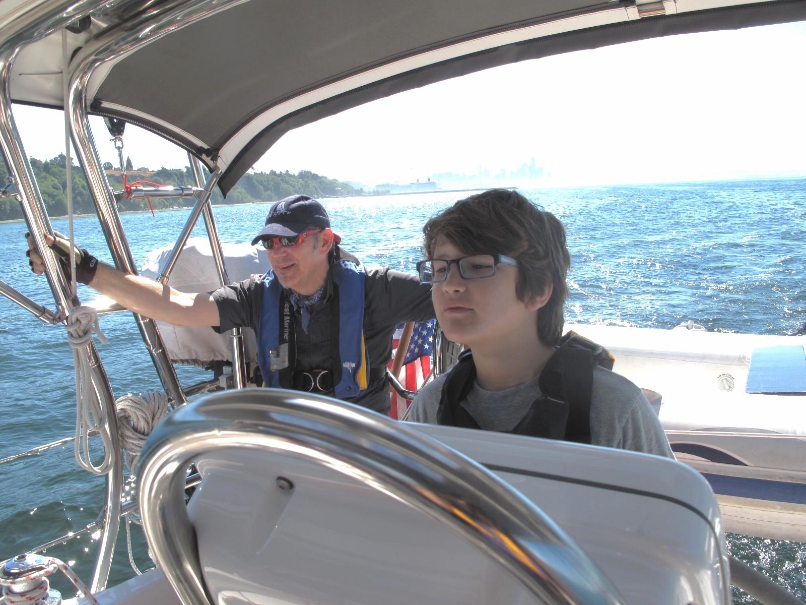 Teaching seamanship, Puget Sound