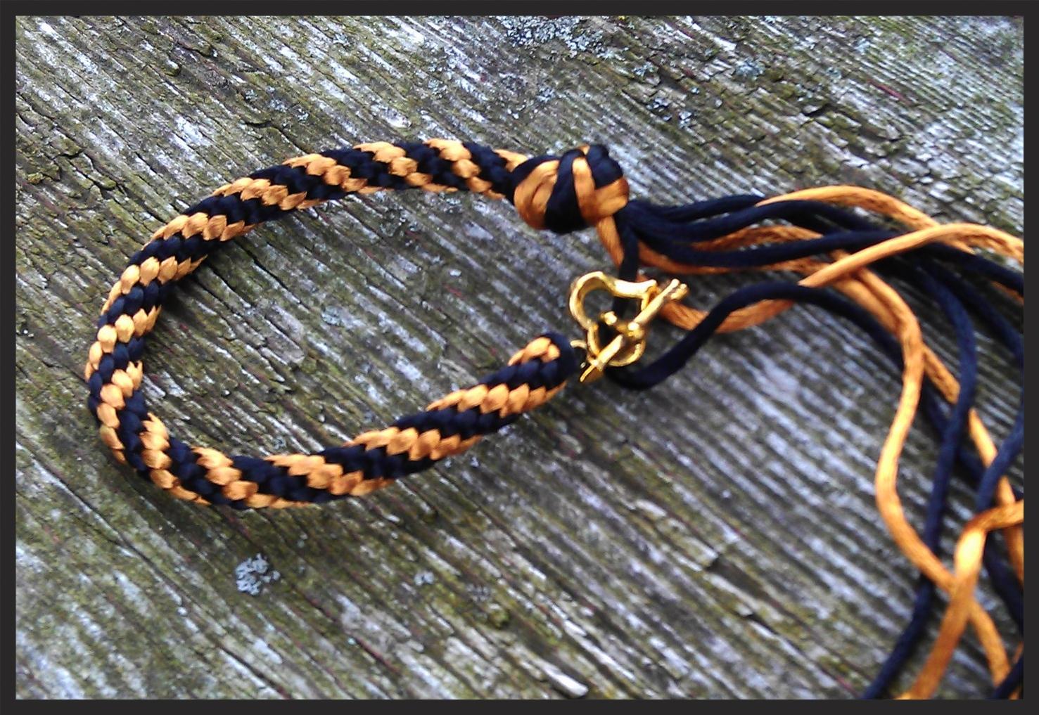 Kumihimo Basic Braided Bracelet