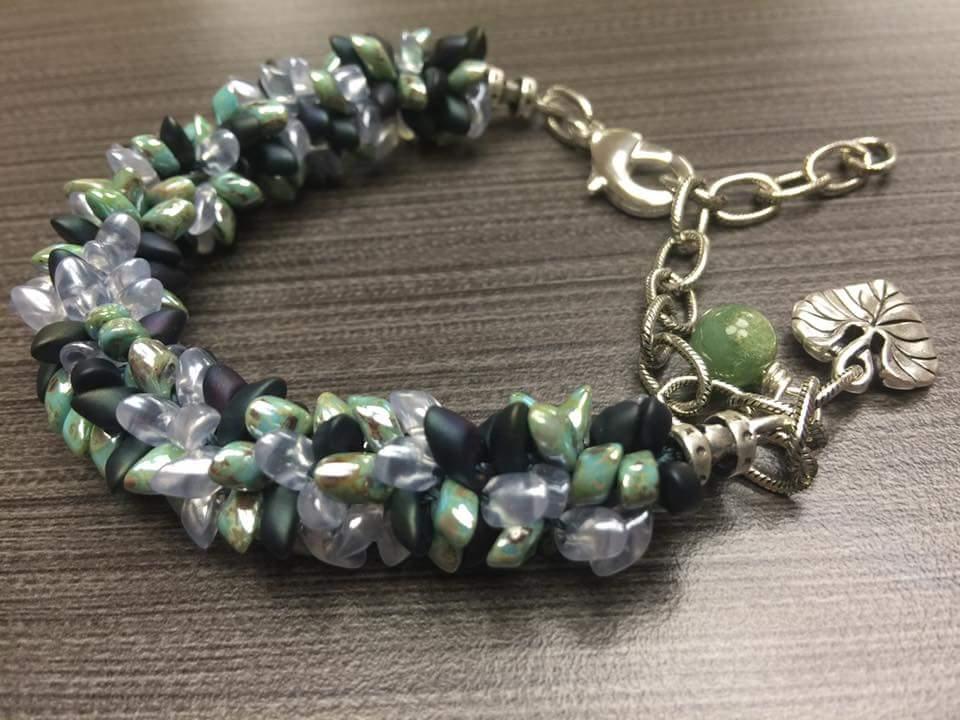 Sylvan Leaf Bracelet