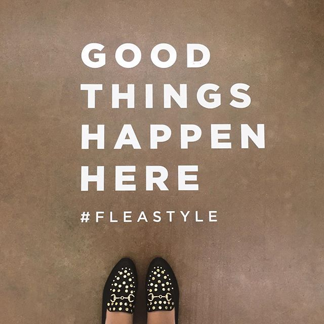 It's true, good things always happen for @the.kayes at @fleastyle 🤗 come visit us today until 5!