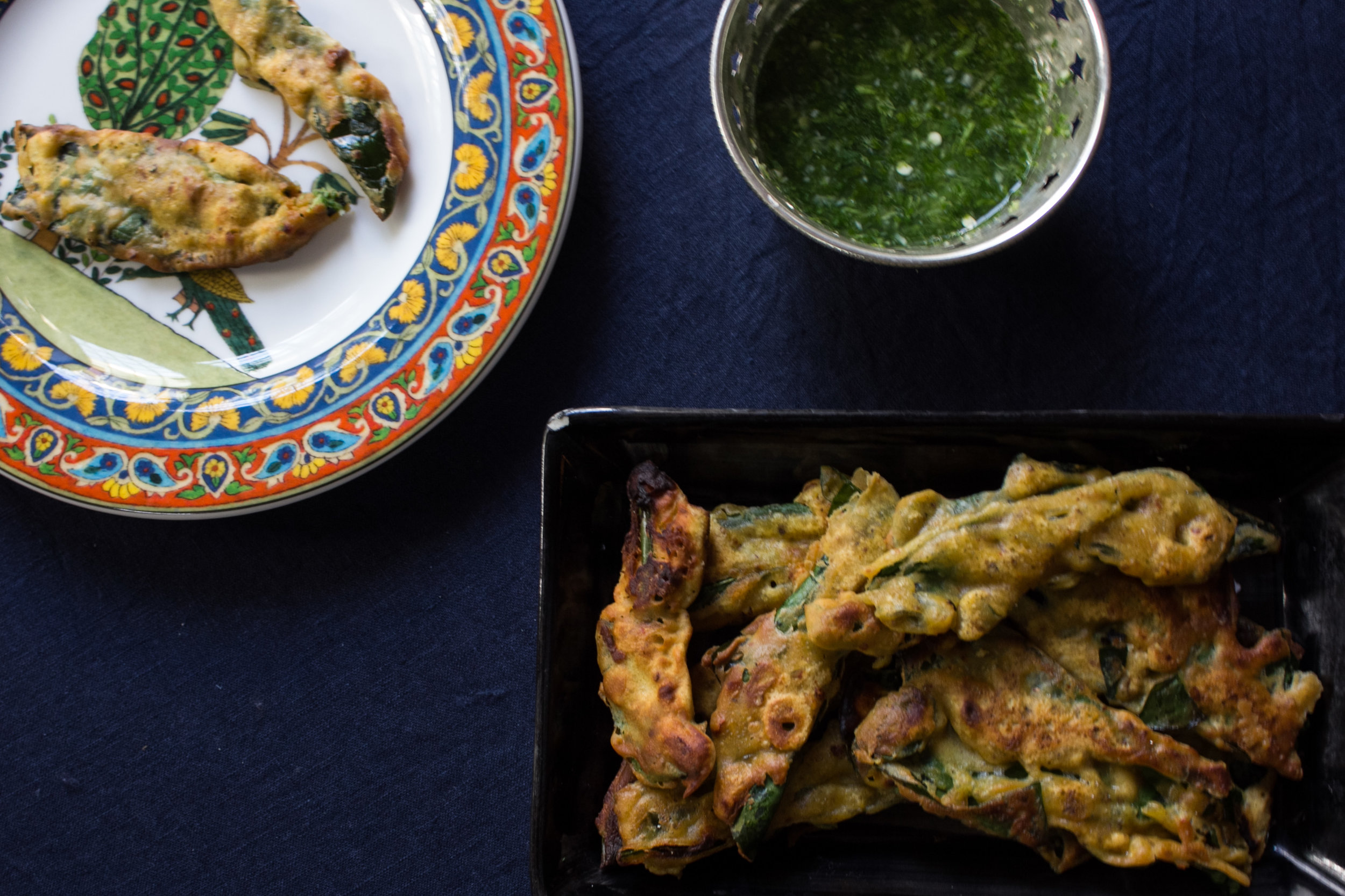 spinach-pakoray