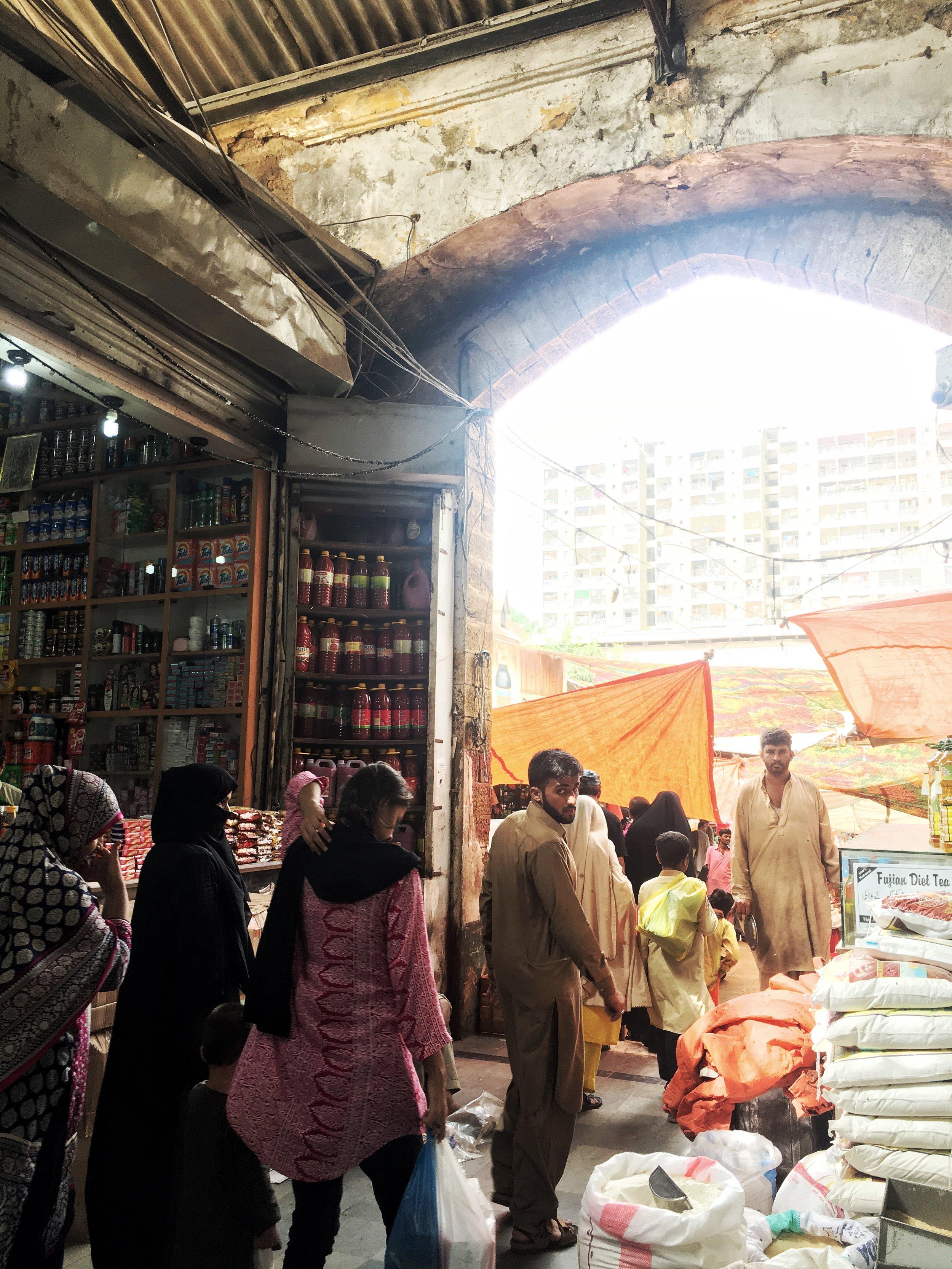 Karachi - Empress Market - Entryway.jpg