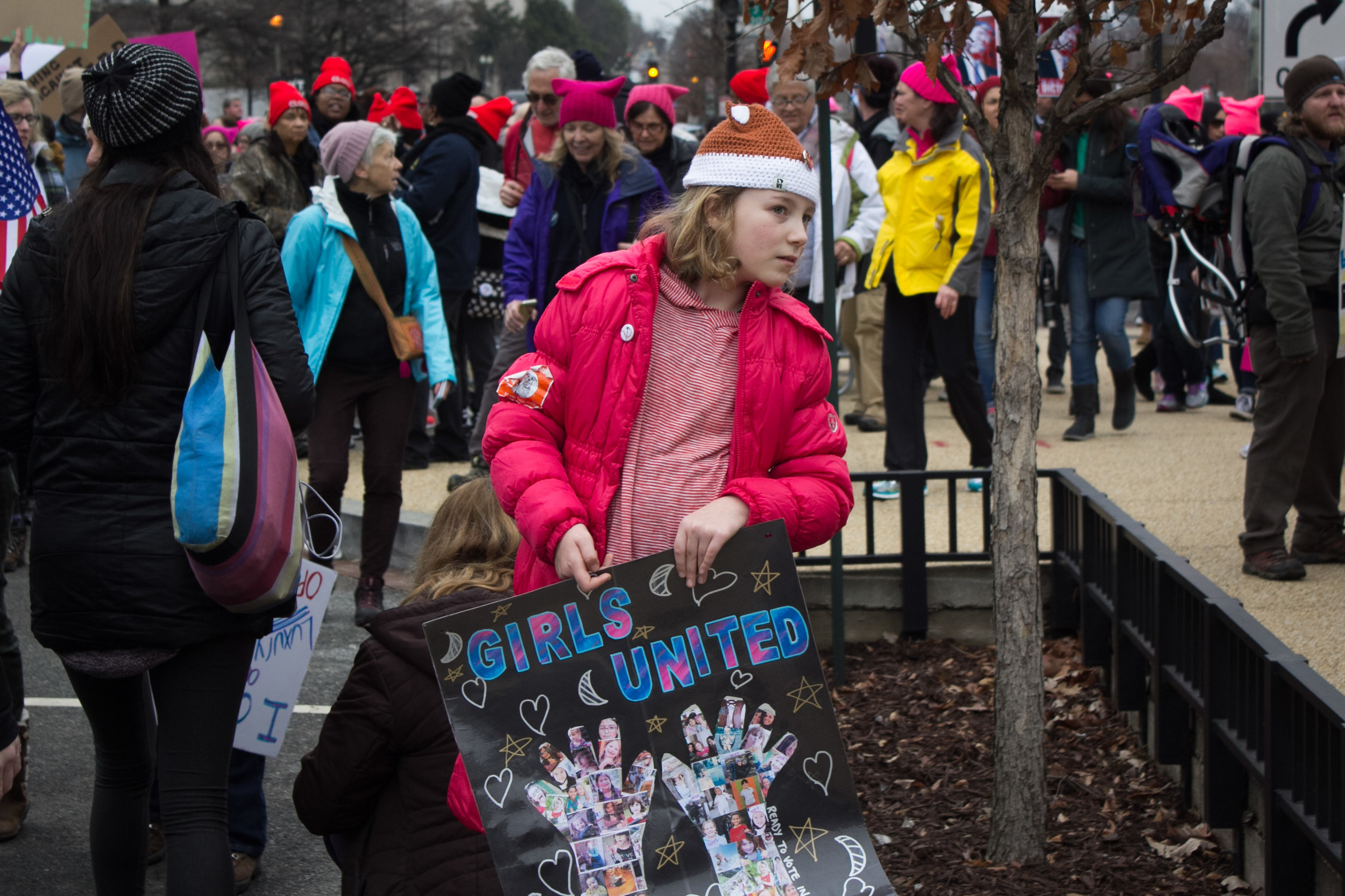 Women's March, Washington DC