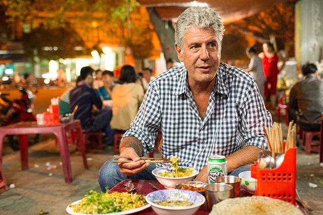 Not done grieving Bourdain but #BourdainDay was a happy reminder of his amazing legacy. . He may not have been perfect but he was an outstanding model for empathy and humanism, opening Americans to countries and people that were otherwise vilified. He spoke up for Central Americans, for Palestinians, for Iranians among many others.  Bourdain also demonstrated remarkable self-awareness. He re-shot his Parts Unknown episode for Cambodia because he felt that the first one was arrogant and ignorant, not doing justice to a country coming out of genocide.  We have so much to learn from his example.