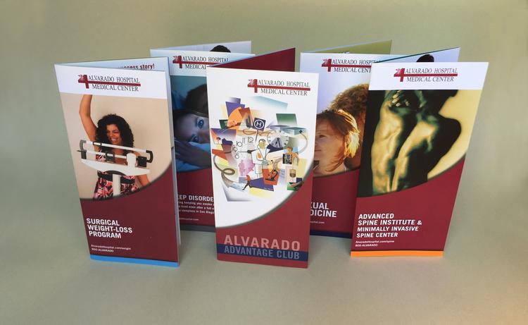 AH service line rack brochures