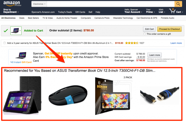 Recommender Systems: Generating Revenue Through Product Cross-Sell
