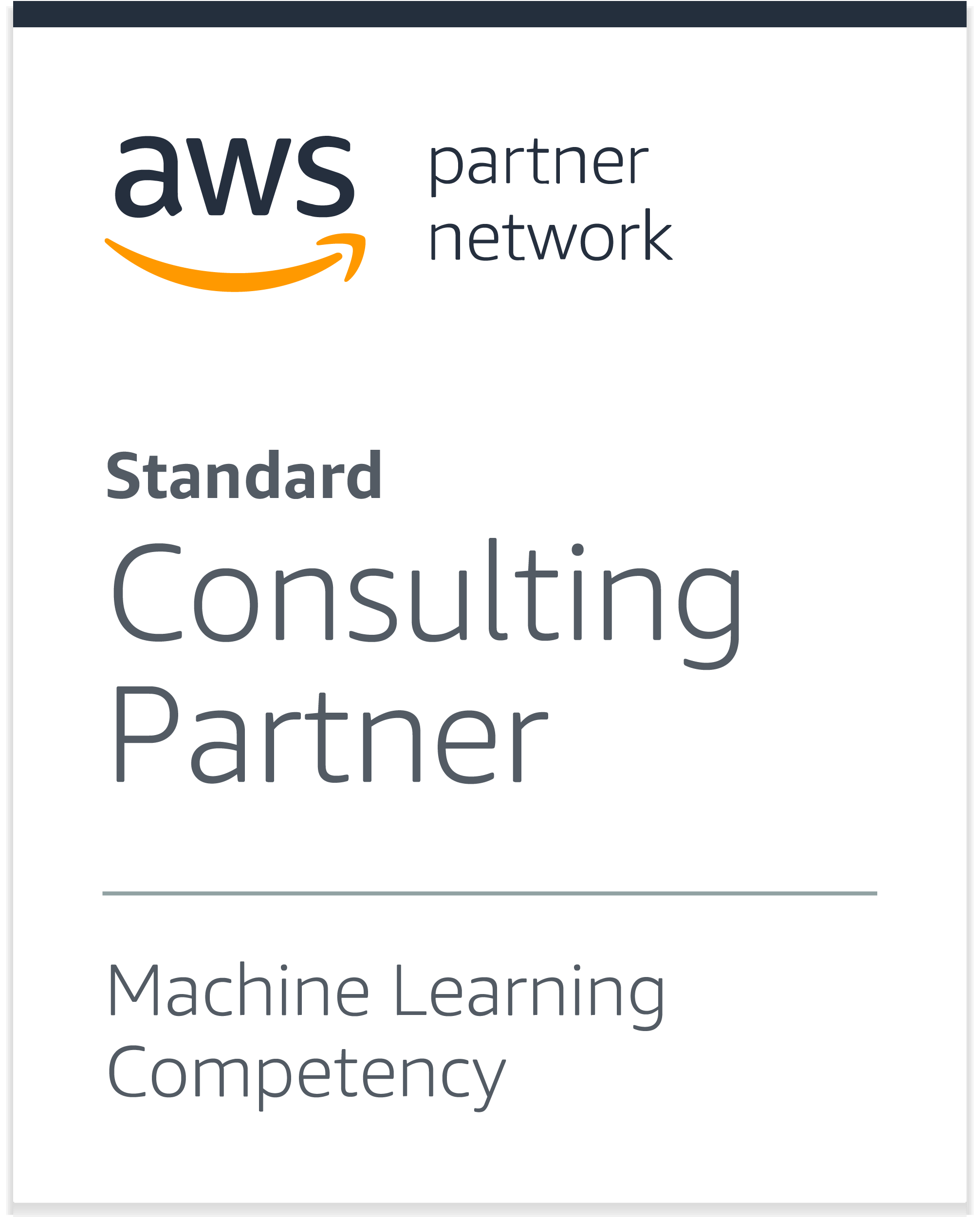 AWS consulting partner ML compentency
