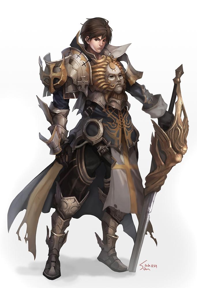 Crusader from Artist: Nawol https://www.deviantart.com/nawol/art/crusader-165382252