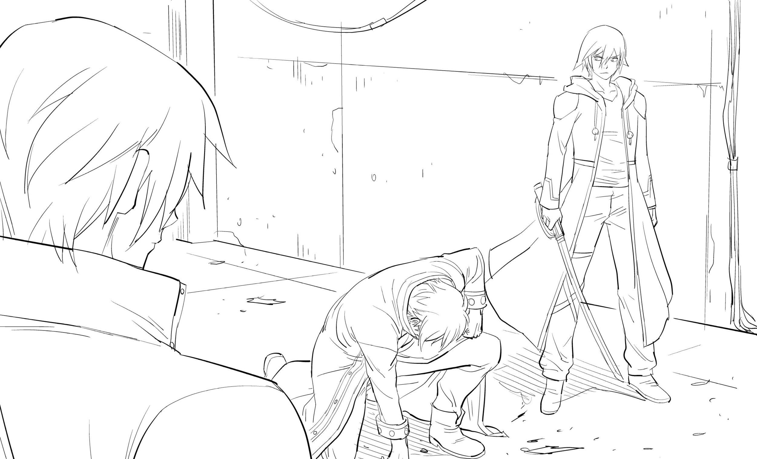 Lan Kouru and Tetsuya rough sketch.jpg