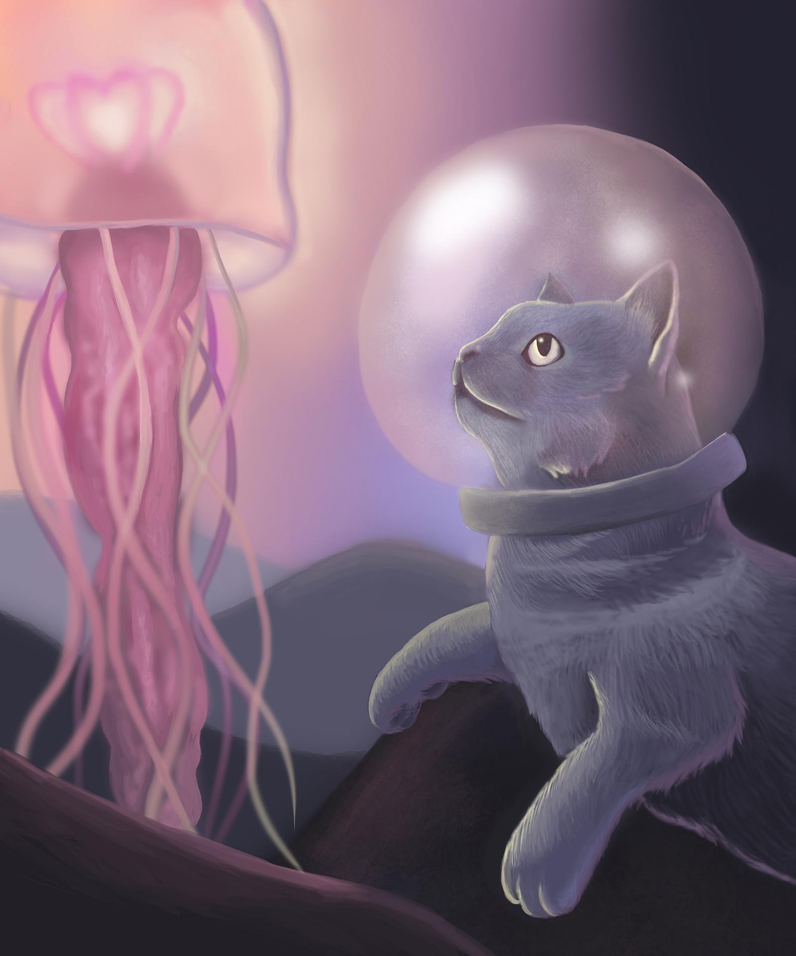 Kirkpatrick_A Cat's Underwater Adventure_digital media.jpg