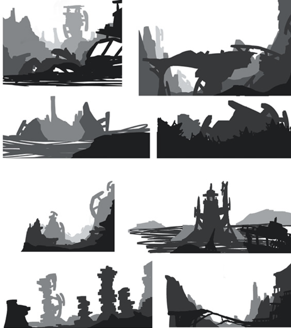 Sketches and 3D Mockups