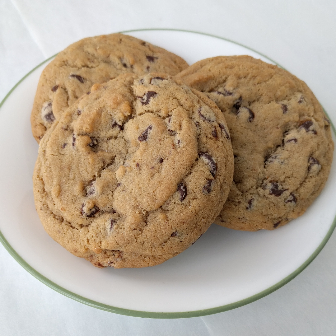Chocolate Chip   Chewy chocolate chip cookies!