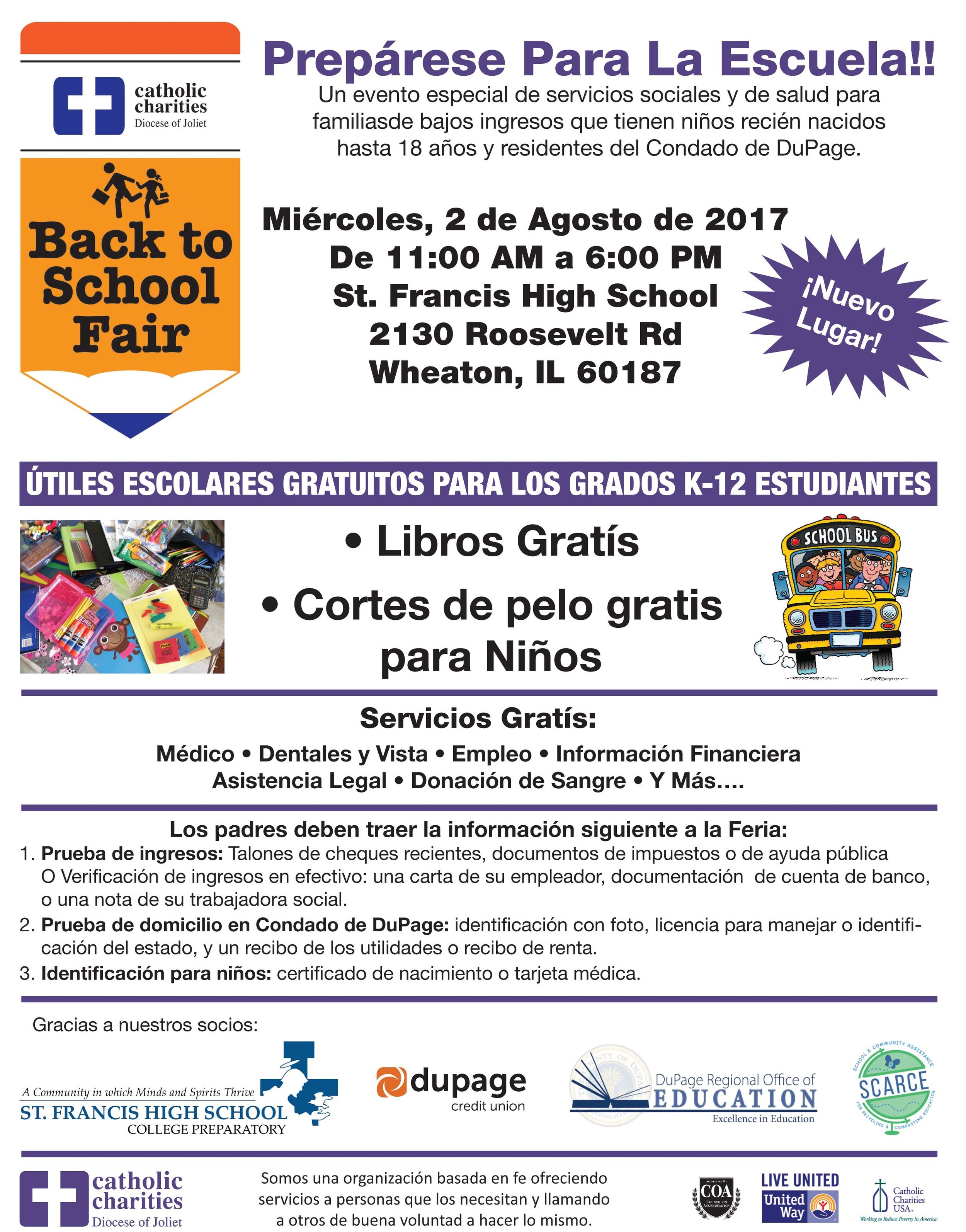 27th Annual DuPage County Back to School Fair Flyers in Spanish-2.jpg