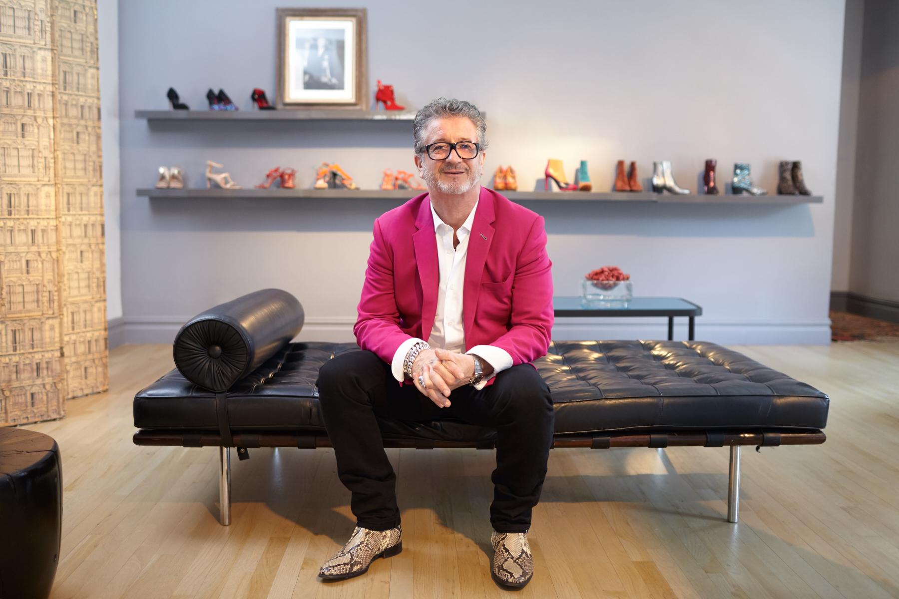 Jean-Michel Cazabat, Footwear Designer