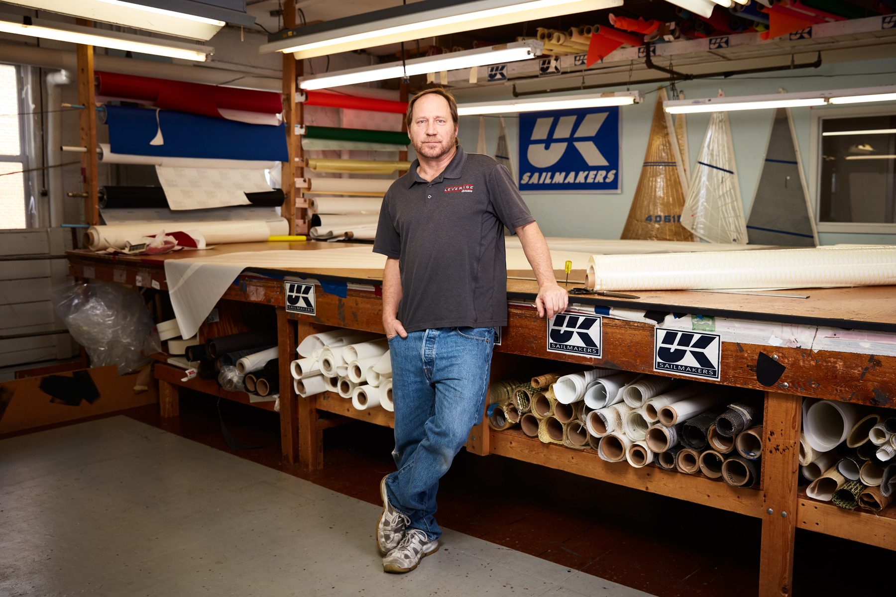 Peter Sherman, Sailmaker