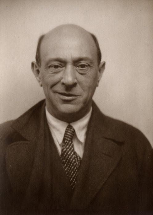 Schoenberg cracks a smile.
