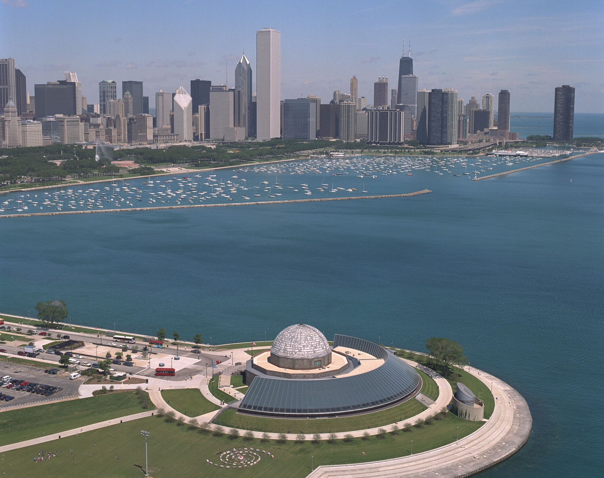 Adler Planetarium - Co-ProducersThe Adler Planetarium connects people to the Universe and each other. Whether it is introducing a guest to the Ring Nebula, a neighborhood school to a community partner, a research team to a network of citizen scientists, or one staff member to another, the Adler's focus on meaningful connections dates back nearly a century.Consisting of a 'renaissance team' of astronomers, visualization specialists, artists, and science communication researchers, the Adler's Space Visualization Group (SVG) and Digital Experience teams specialize in data visualization driven storytelling. They produce the Adler's planetarium shows, and the Kavli Fulldome Lecture Series, as well as digital exhibit and programmatic content for the Adler. The Adler's dome theater experiences and digital visualization work have been recognized with some of the highest awards in the field.Dr. Mark SubbaRao, DIrector of Space Visualization Laboratory, and Mike Smail, Director of Theaters and Digital Experience, are key technical consultants for the Enigma project.More at www.adlerplanetarium.org
