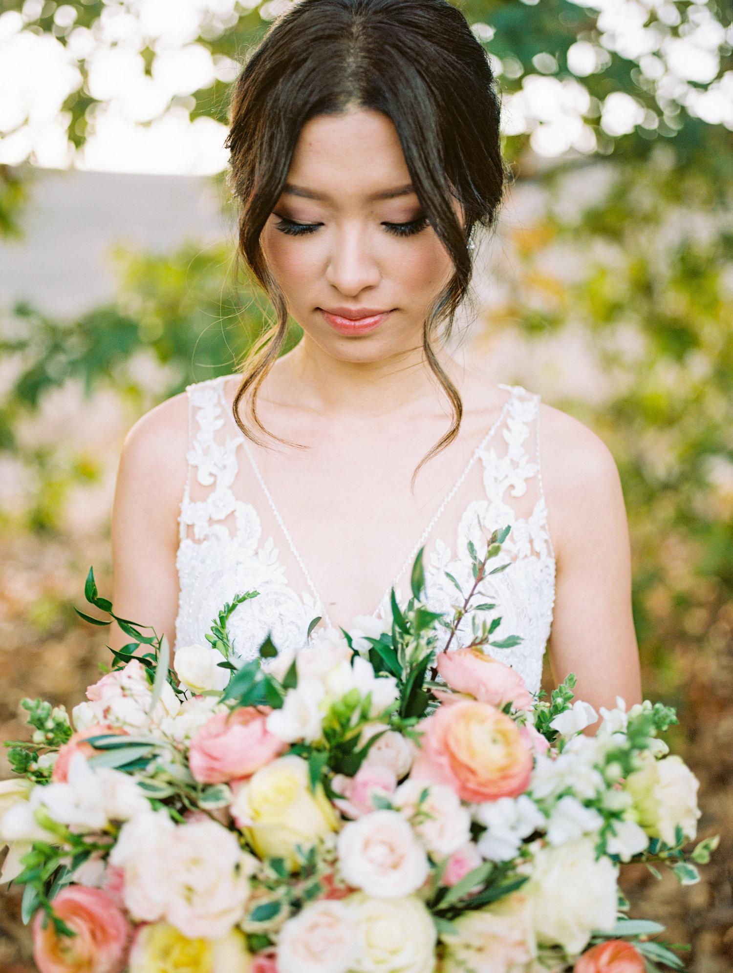 orange county wedding makeup & hair   hikari murakami