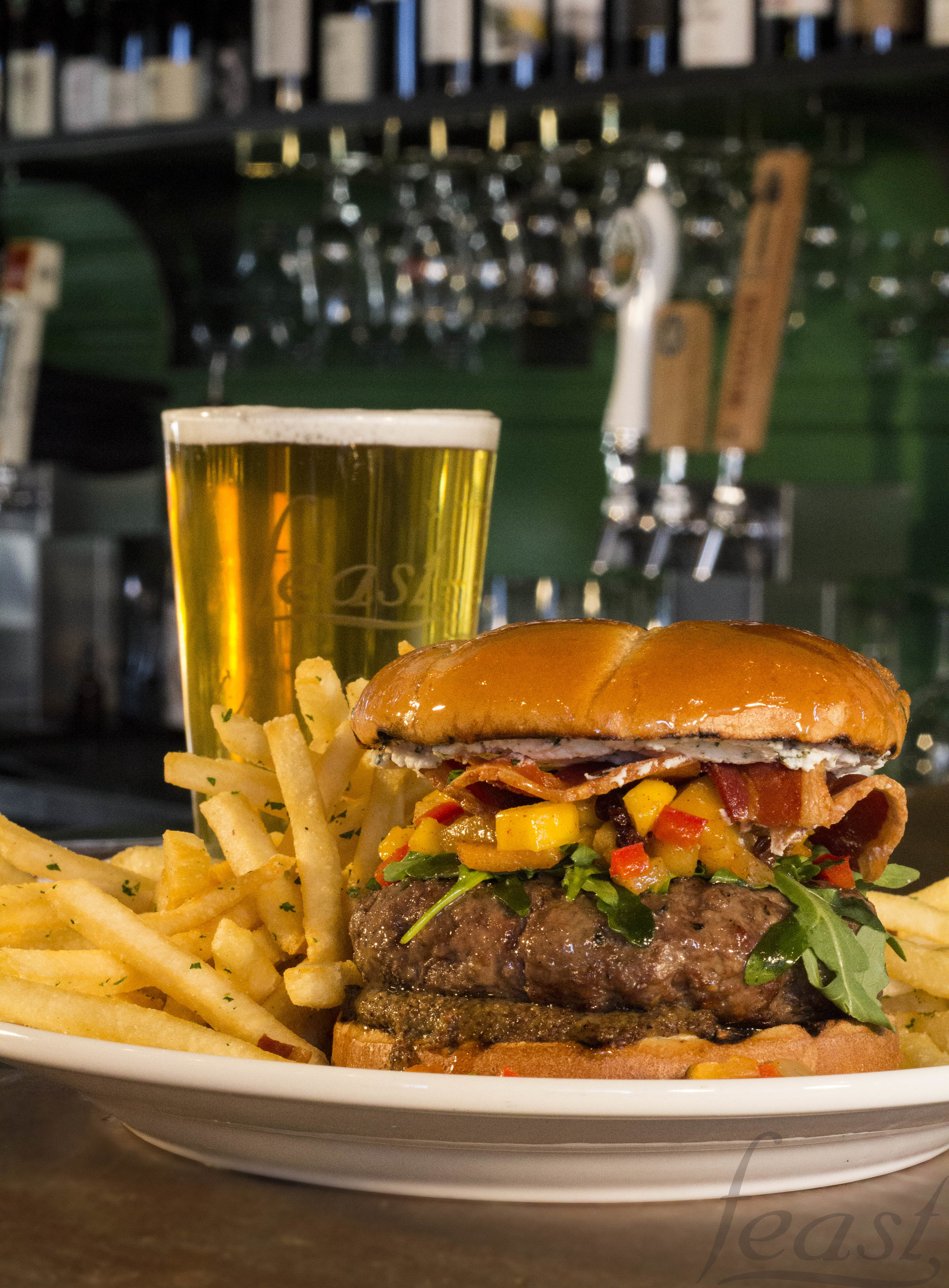 Beer and a Burger
