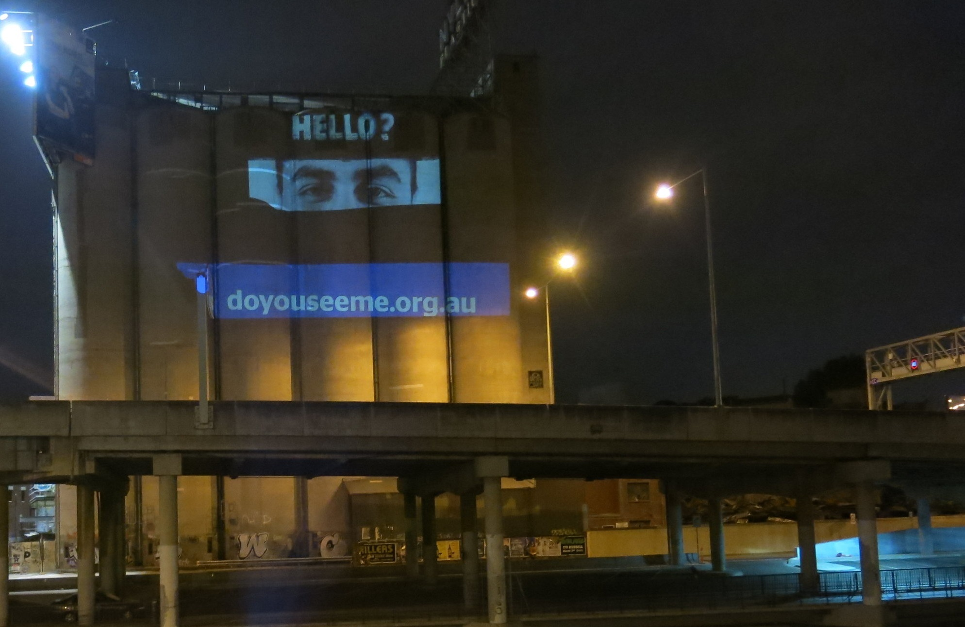 Projection Advertising - Asylum Seekers Resource Centre, Do You See Me Campaign 2018Custom designed and operated projection advertising campaign across the Melbourne CBDLearn more here