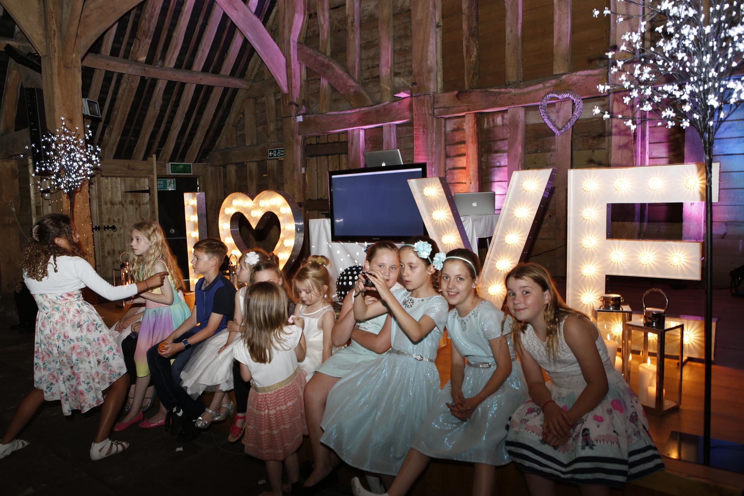 bluemark LOVE stage with children.JPG