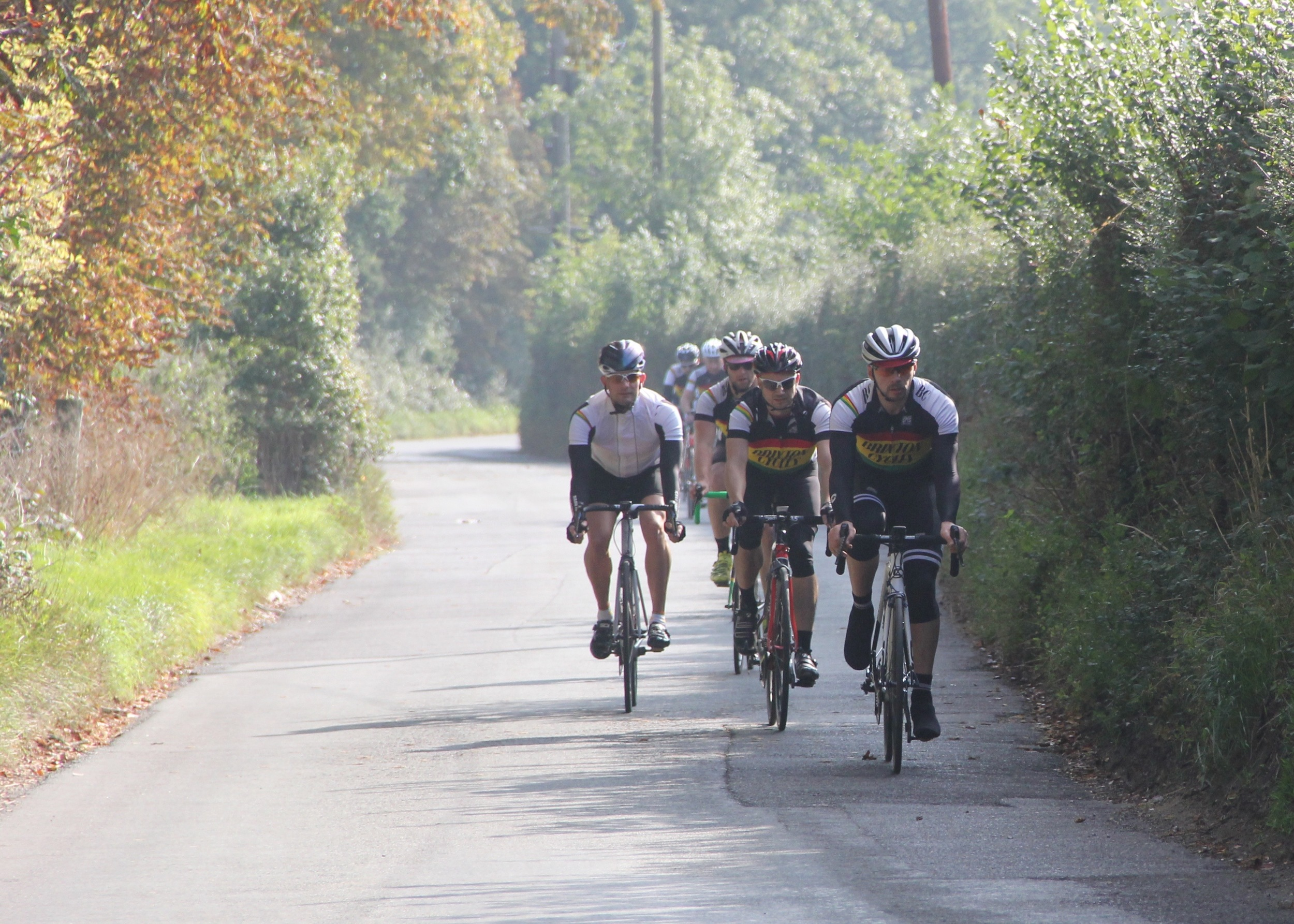 Brixton Cycles  enjoy the beautiful weather in the Kent Downs
