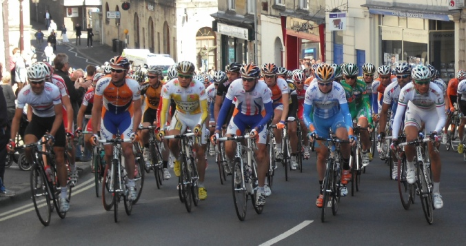 Frome and District Wheelers Cycle Club in action