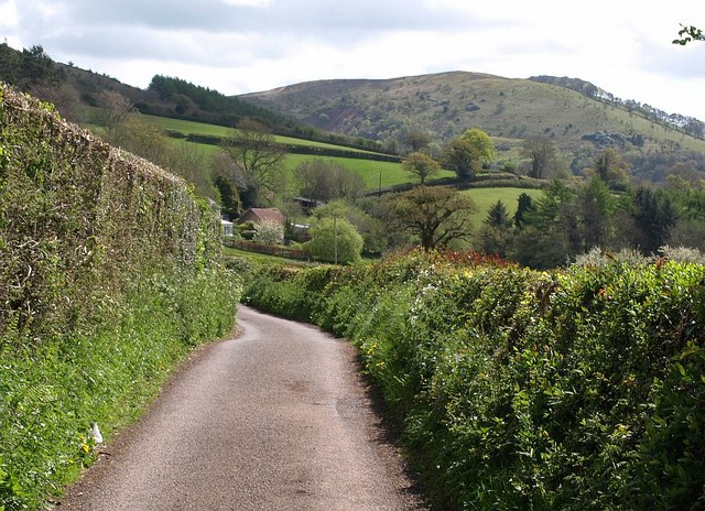 """Approaching Little Quantock - geograph.org.uk - 1278500"" by Derek Harper. Licensed under CC"