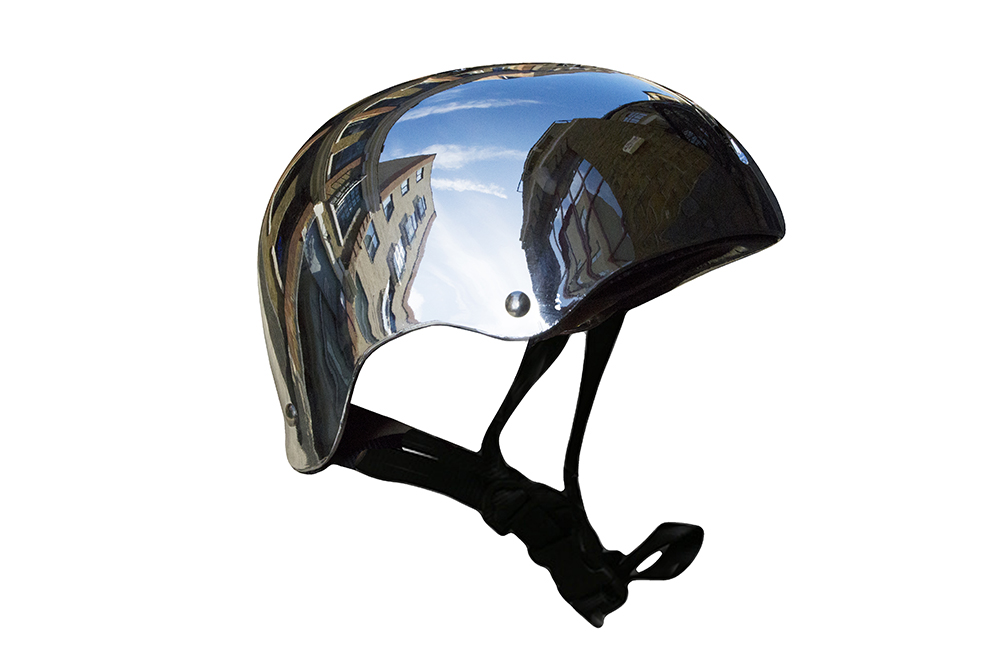 A shiny helmet which doesn't even need polishing