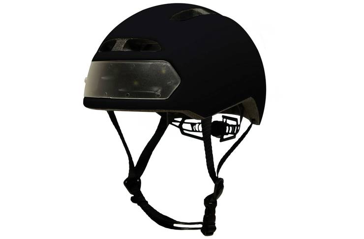 The Torch T2 illuminated helmet £85 from Evans