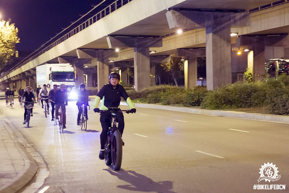 """Fat Bike under the motorway playing 'I Want to Ride My Bicycle"""""""