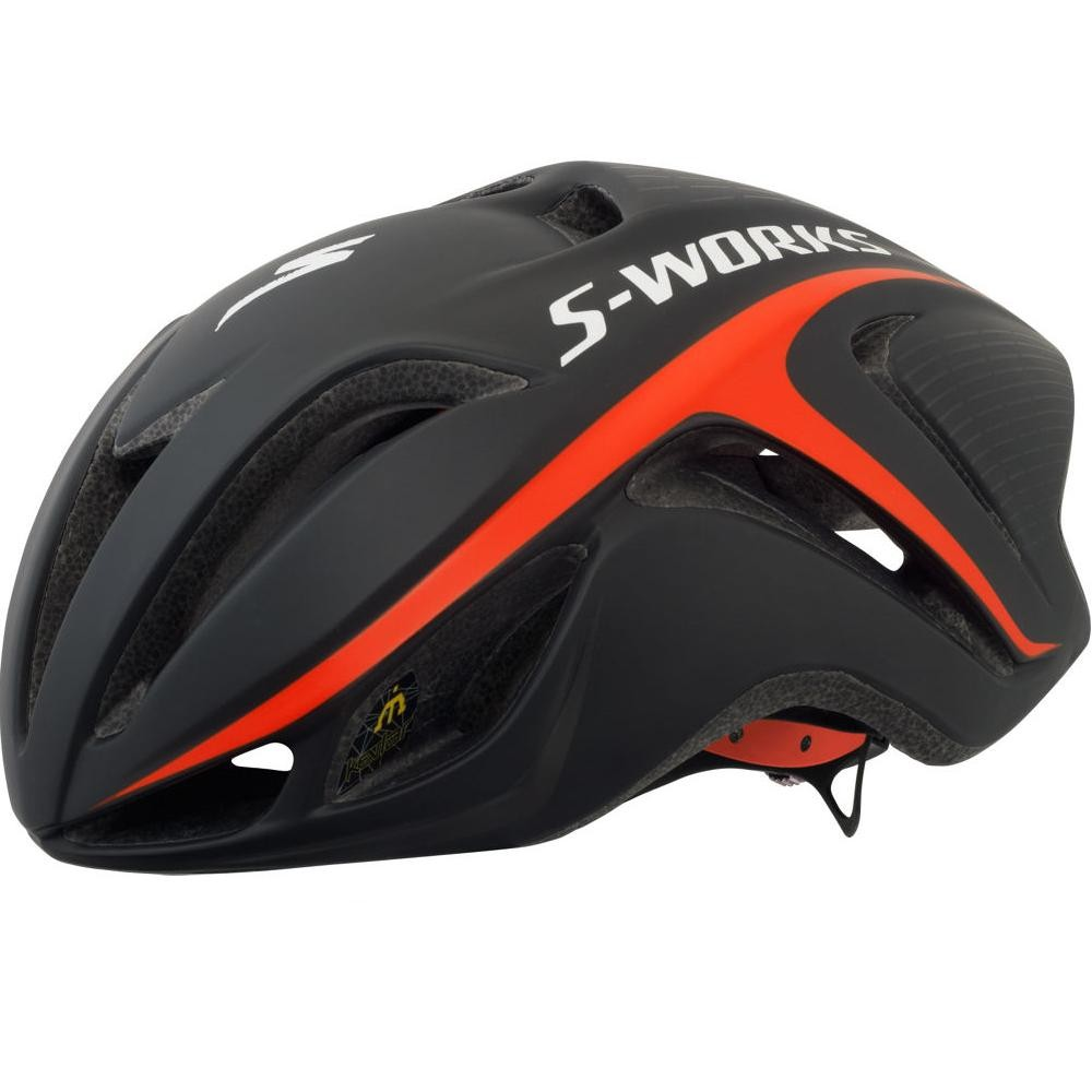 And to match the shoes... a Specialized Evade Black and Red Helmet again from £159.99 down to £99.99 this week