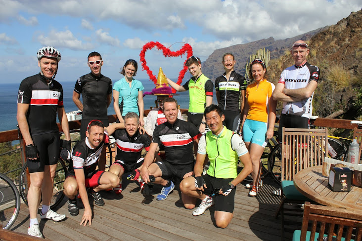 Polka Dot holidays run training camps in Tenerife during winter months