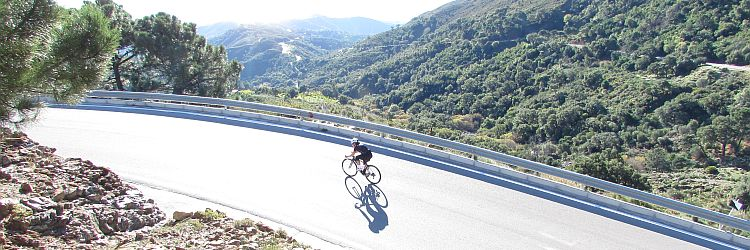 Costa Cycling Experience in Andalucia