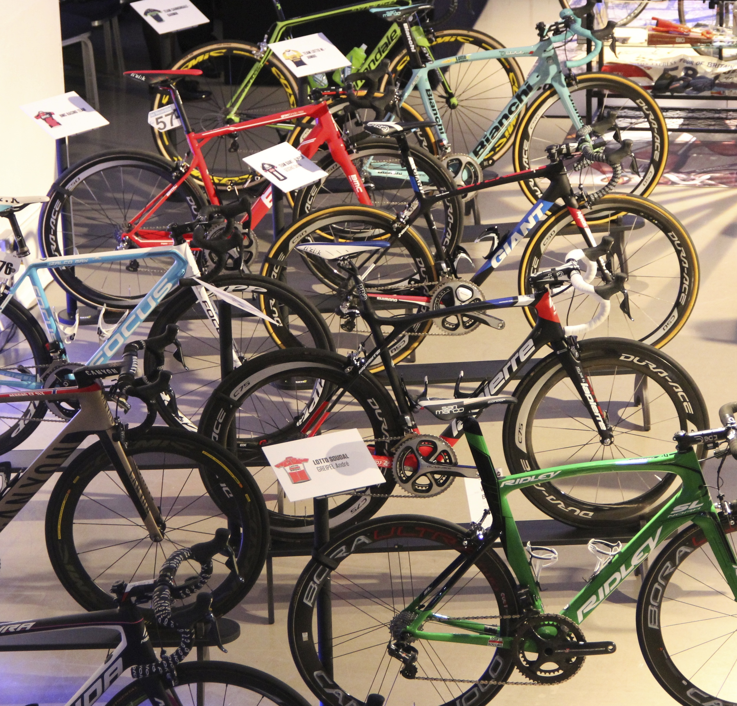 It's not your local Evans, it's only the best road bikes in the world!