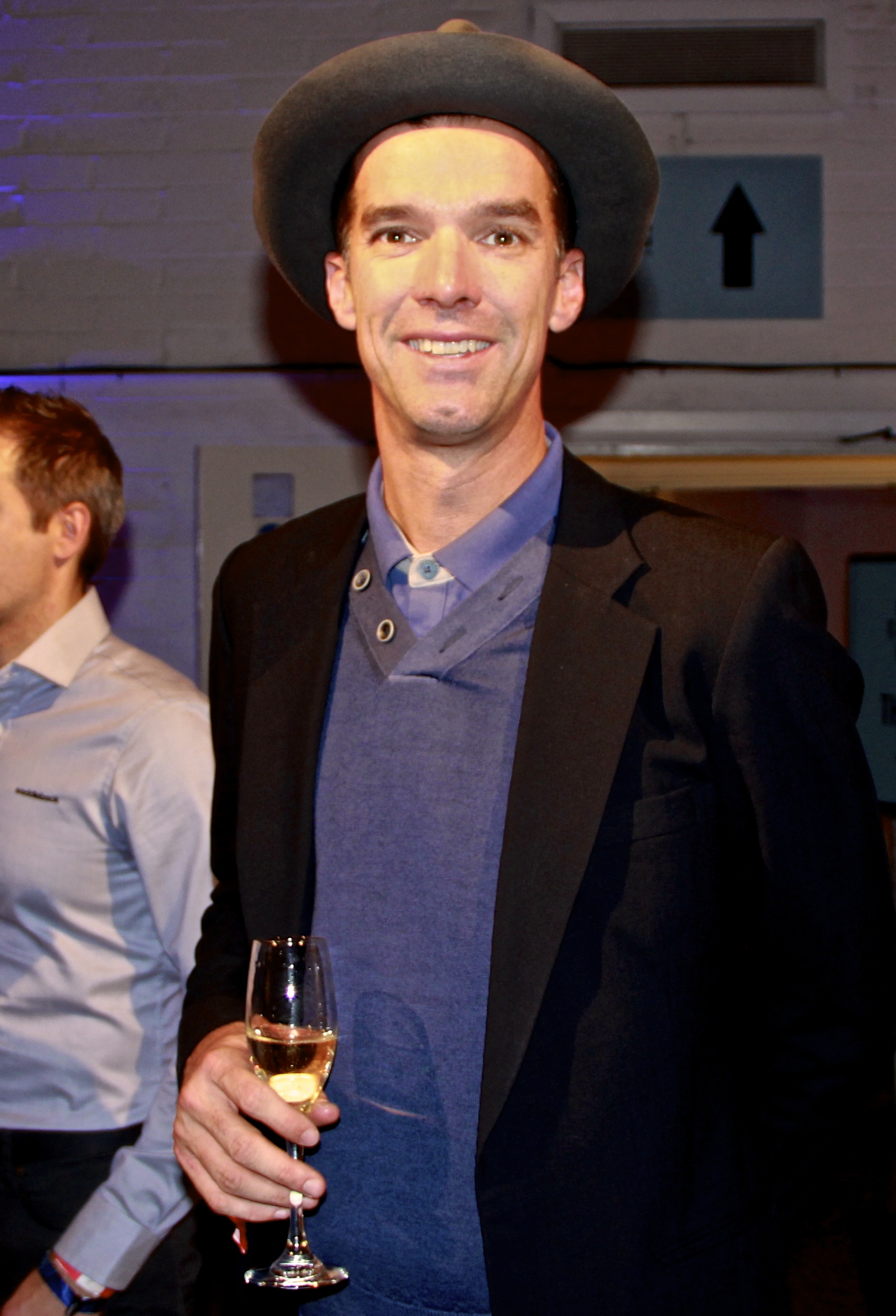 Reaping the rewards of retirement: David Millar in relaxed mode