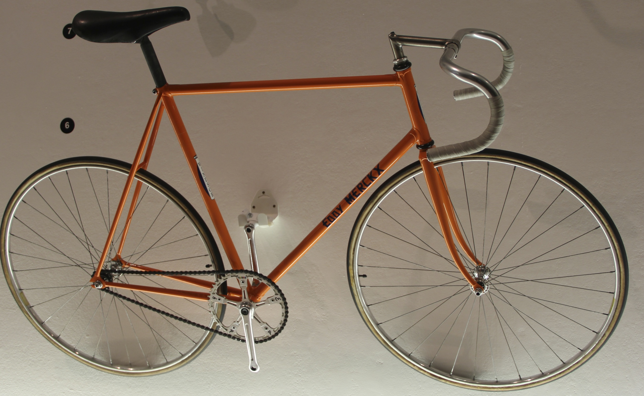 Eddy Merckx 1972 Hour Record Bike
