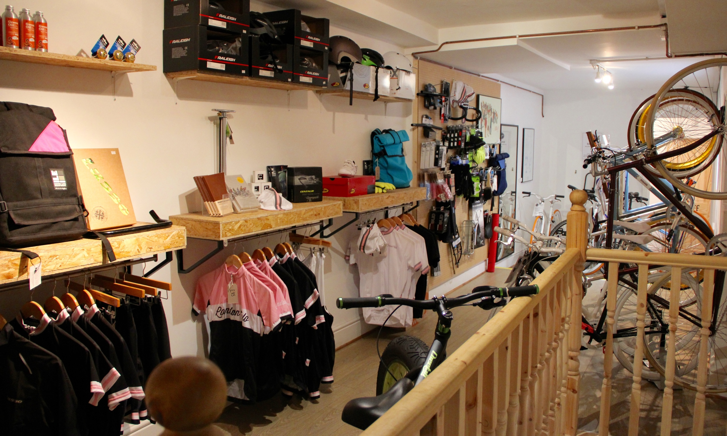 Everything a cyclist could want at London Velo
