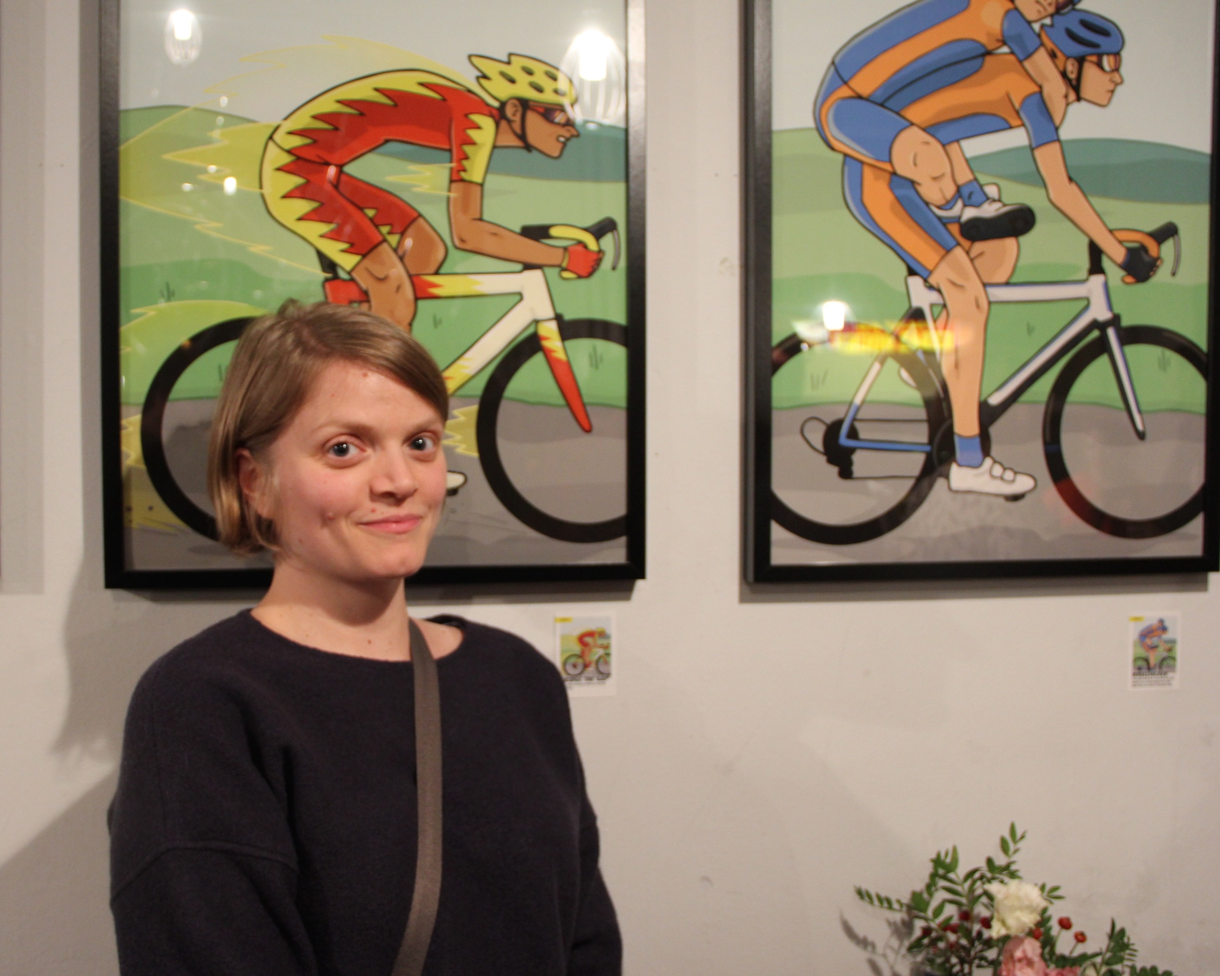 Canadian illustrator Adrienne Hawkes - the final link in the creative chain