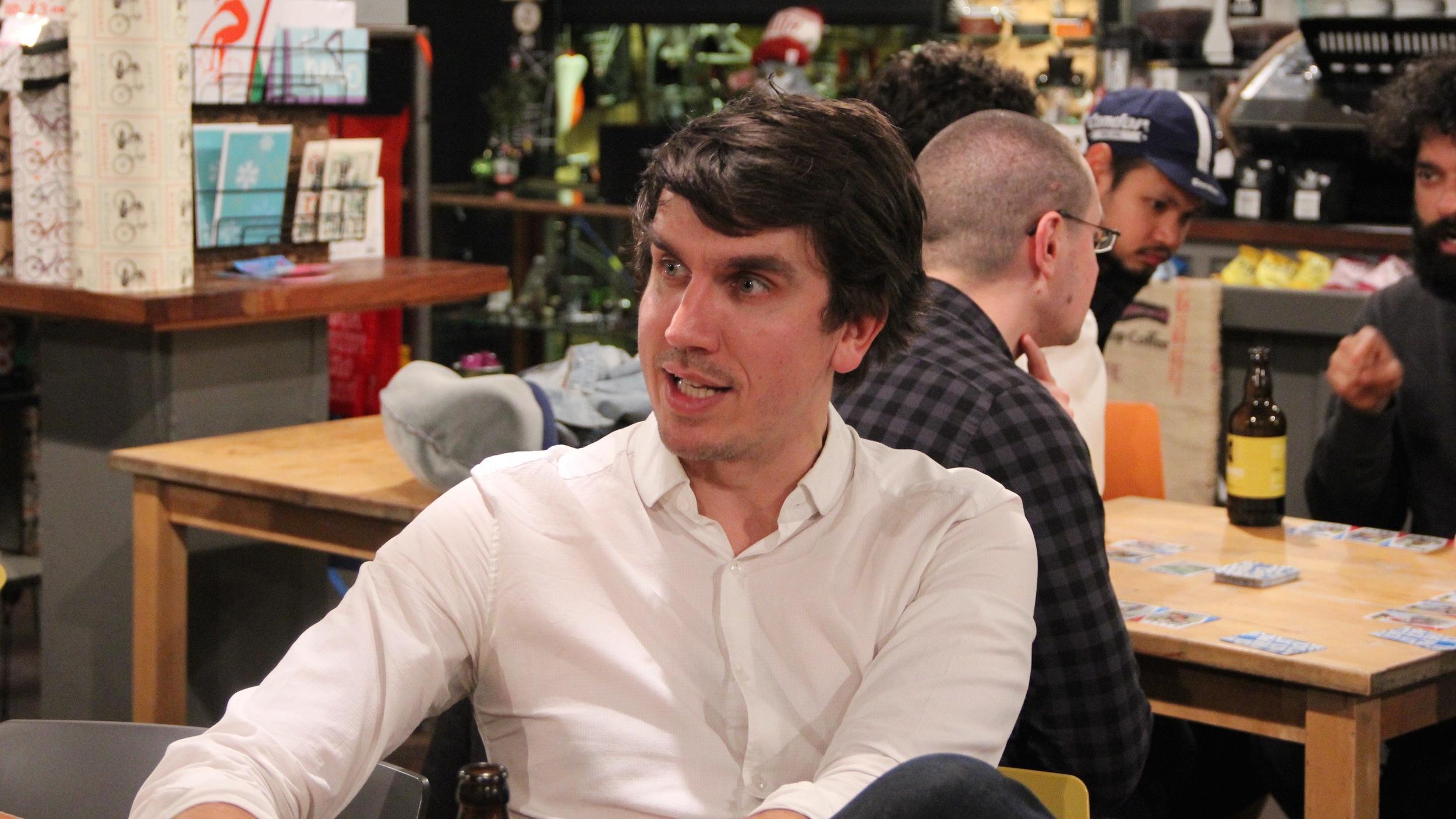 No, it's not an American sit-com actor, it's Ben Nickolls, software developer