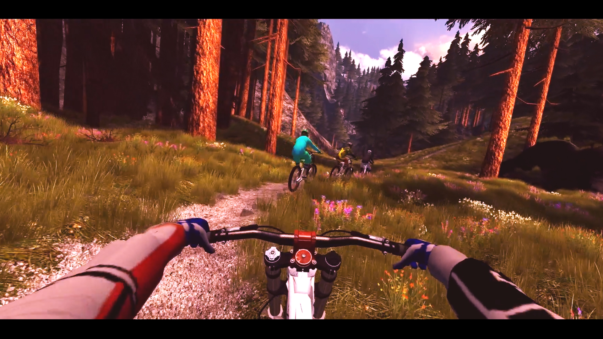 The virtual cycling world of the new ebove bike available in 2016 from activetainment.com
