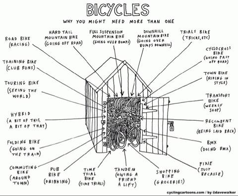 Cartoon courtesy of Dave Walker,  www.cyclingcartoons.com