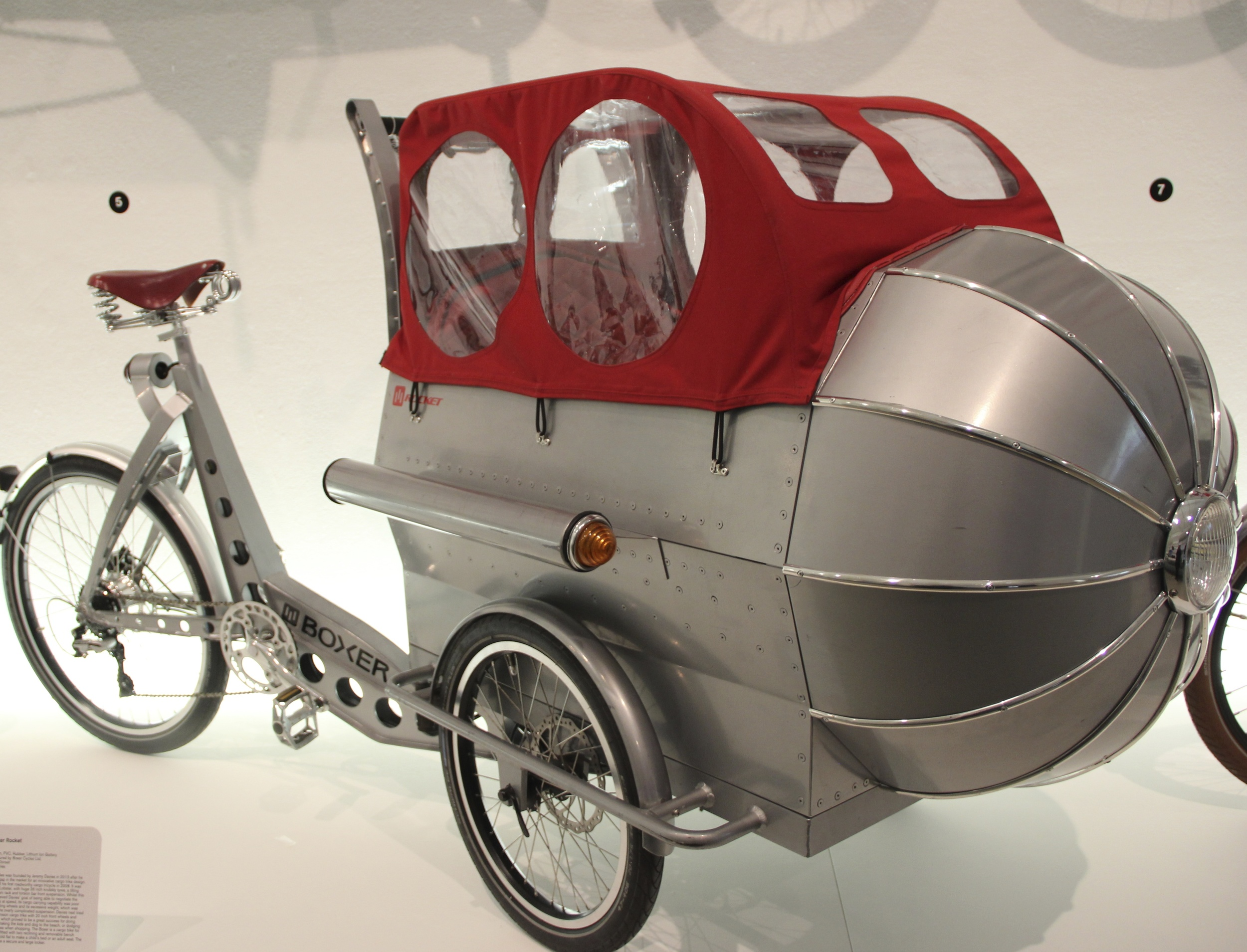 The Boxer Rocket - custom made for £4,950