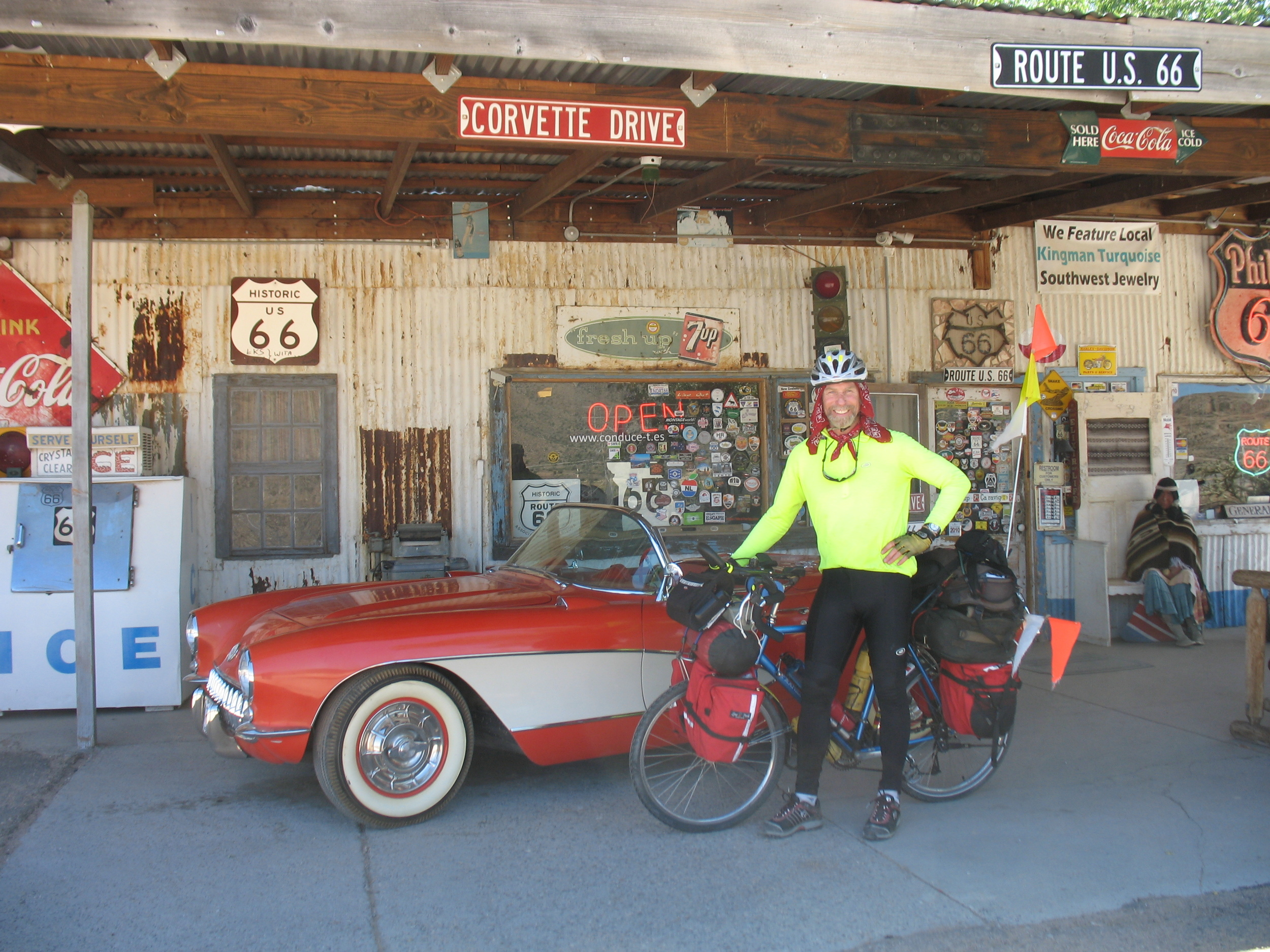 Coast to Coast Across America - Travels with Condor along Route 66
