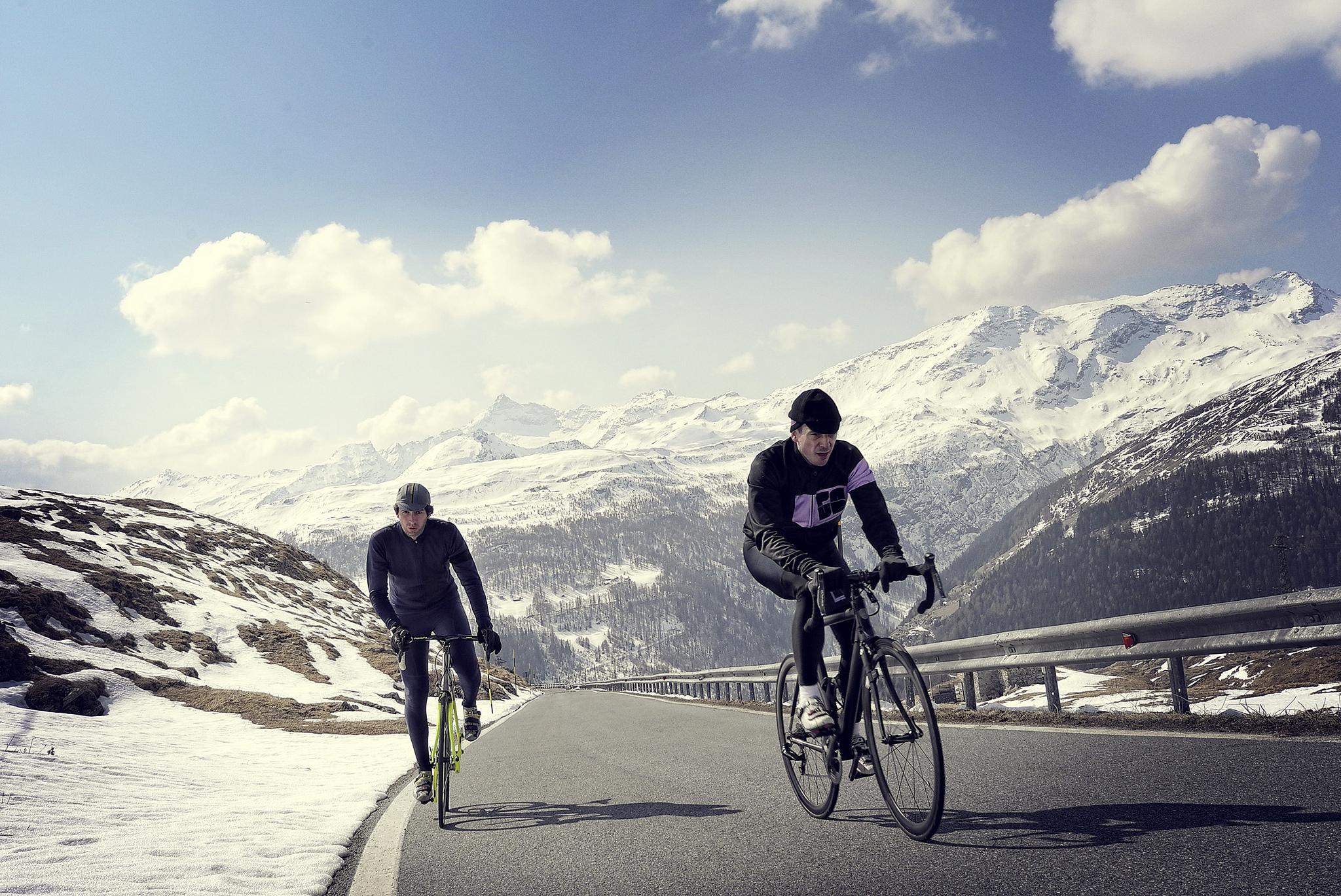 Passoni owner Matteo Cassina on his favourite ride up the Passo Dello Spluga