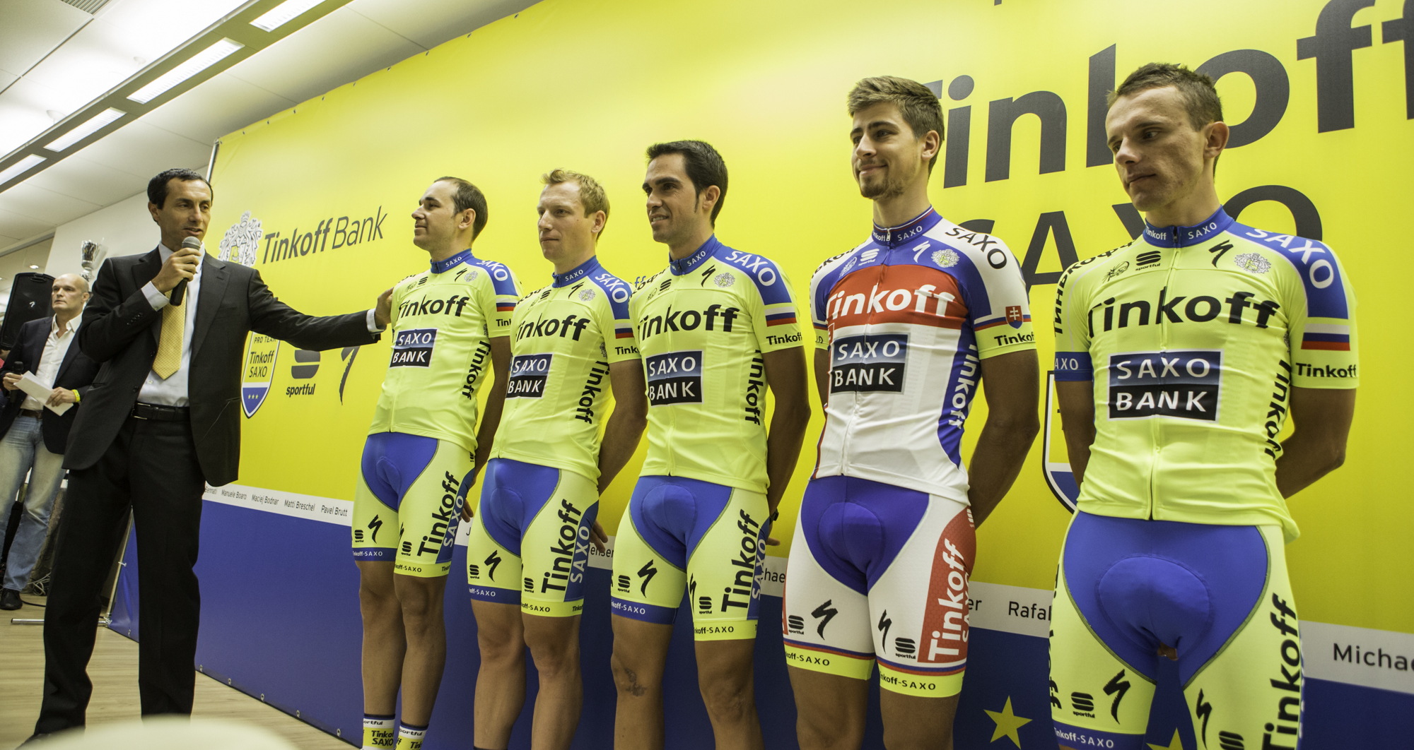 Worst team kit  - image courtesy of Tinkoff-Saxo
